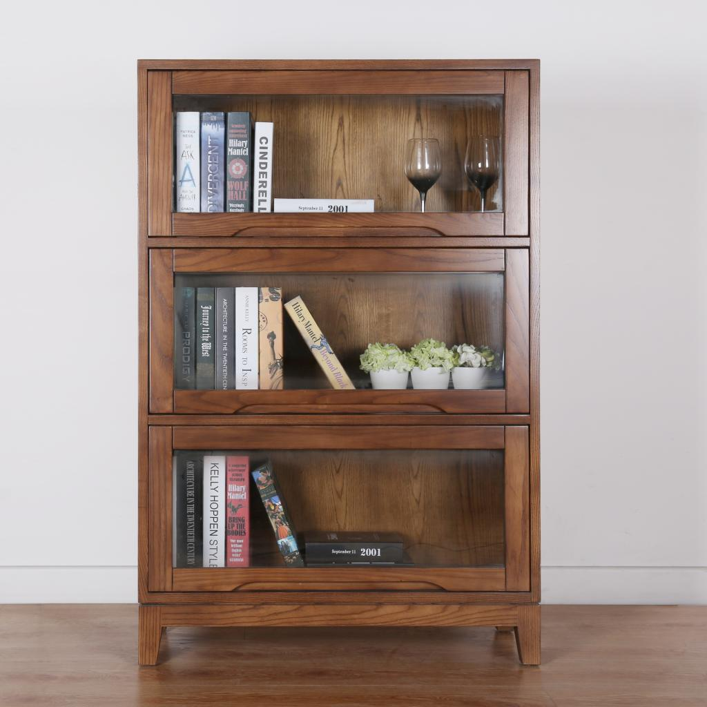 japanese style office. Pure Wax, Wood, Japanese Style 35 Storey Bookcase, Home Office, Door, Multi-storey Combination, Solid Wood Bookcase. Office Z
