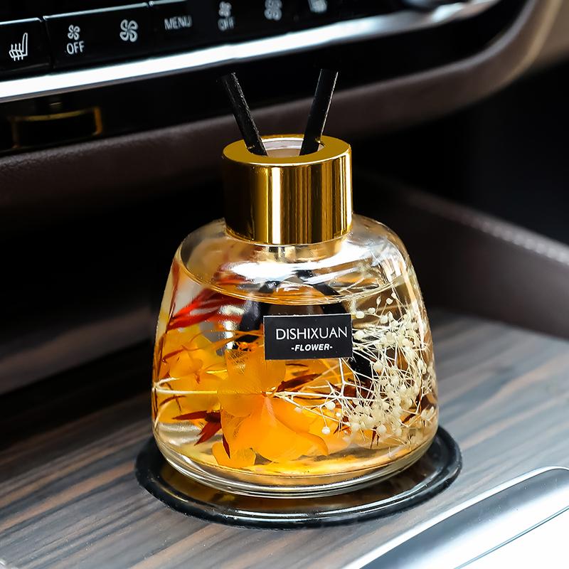 车载香薰持久淡香汽车用香氛除味高档车内饰摆件装饰香水家用室内