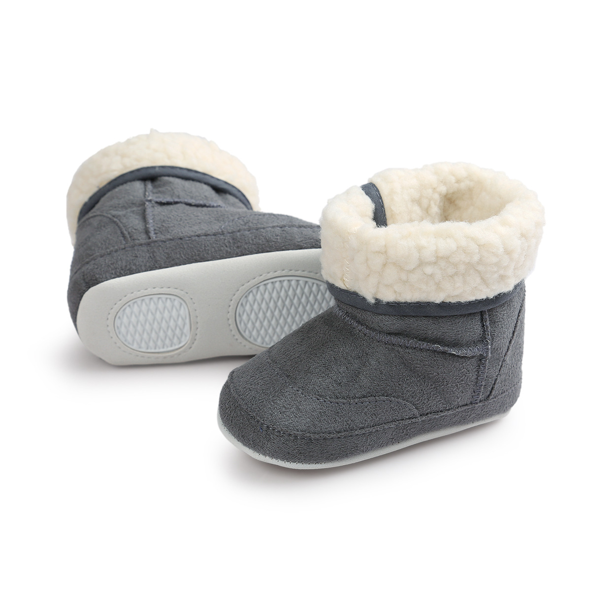 0 3 6 12 Months Baby Shoes Soft Bottom Baby Boots Winter ...