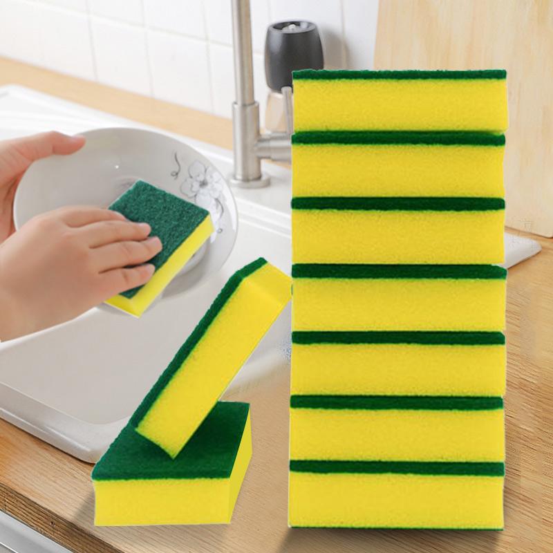 洗碗海绵百洁布洗碗布厨房双面清洁刷锅刷碗神器洗碗海绵块魔力擦