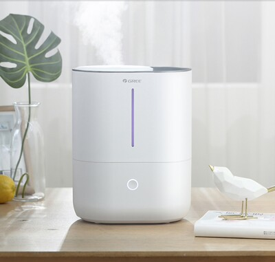 Gree humidifier household silent bedroom pregnant women and babies small aromatherapy purifying air and adding water to the amount of fog