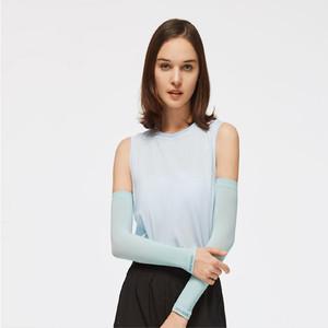 蕉下冰袖女夏冰薄防晒户外防紫外线长款手袖骑行遮阳护臂冰丝袖套