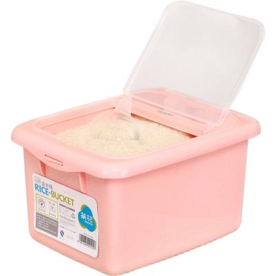 【茶花】防虫防潮家用塑料米桶10kg