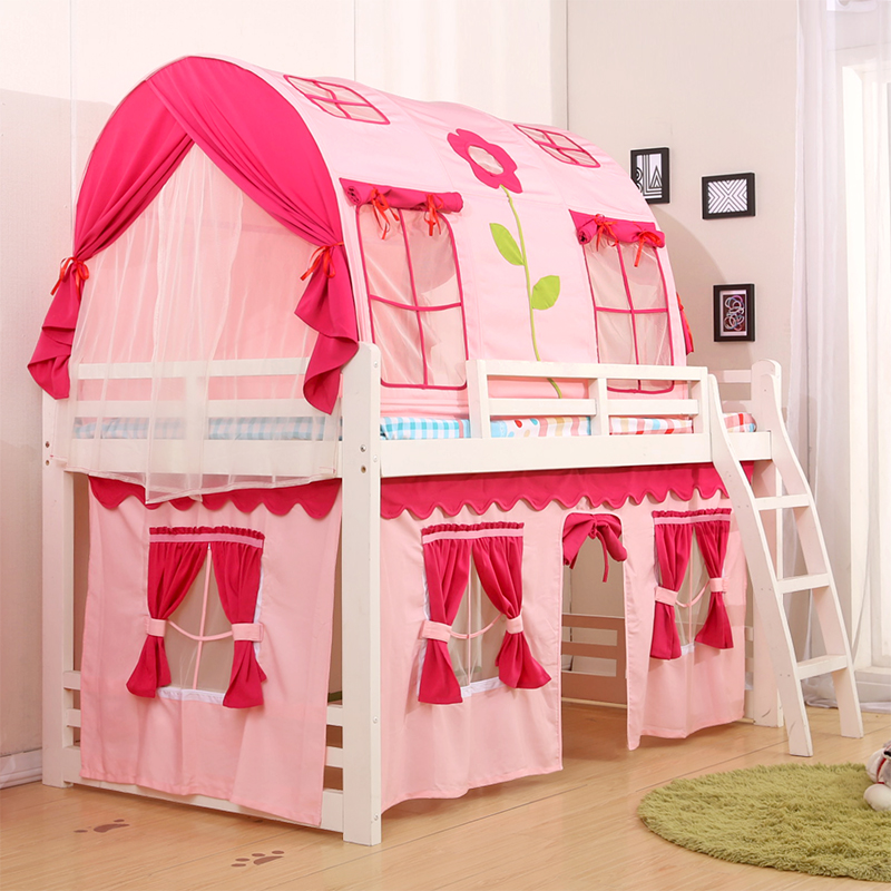 All Categories & New childrenu0027s bed tents Indoor Games tent house single bed bunk ...