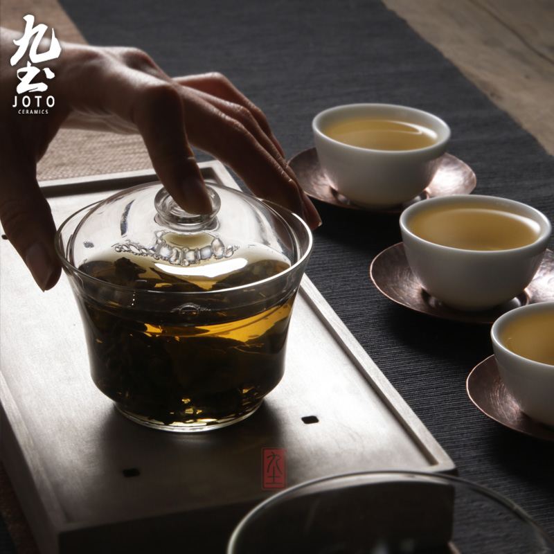 About Nine soil checking glass teapot high - temperature simple household electric teapot with tea stove small electrical TaoLu boil tea