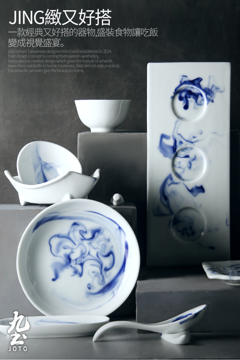 About Nine soil of new Chinese style household ceramics tableware suit the set meal a fish ipads plate of dish bowl bowl dish flavor dish plate feeder