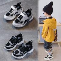 Детская обувь на мальчика осень стиль Холодный поток 2019 новая коллекция корейская версия для отдыха на девочку Осенняя обувь популярный Иностранный газ детские Спортивная обувь