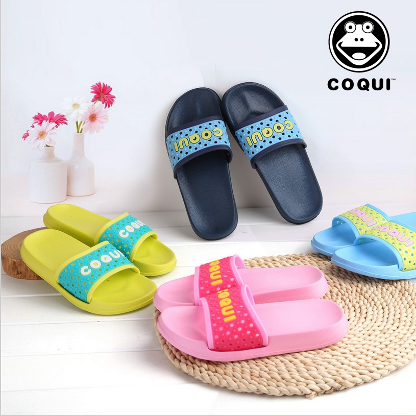 58b323a226ba COQUI cool cool slippers non-slip bath bathroom slippers men and women  indoor thick bottom environmental home home slippers