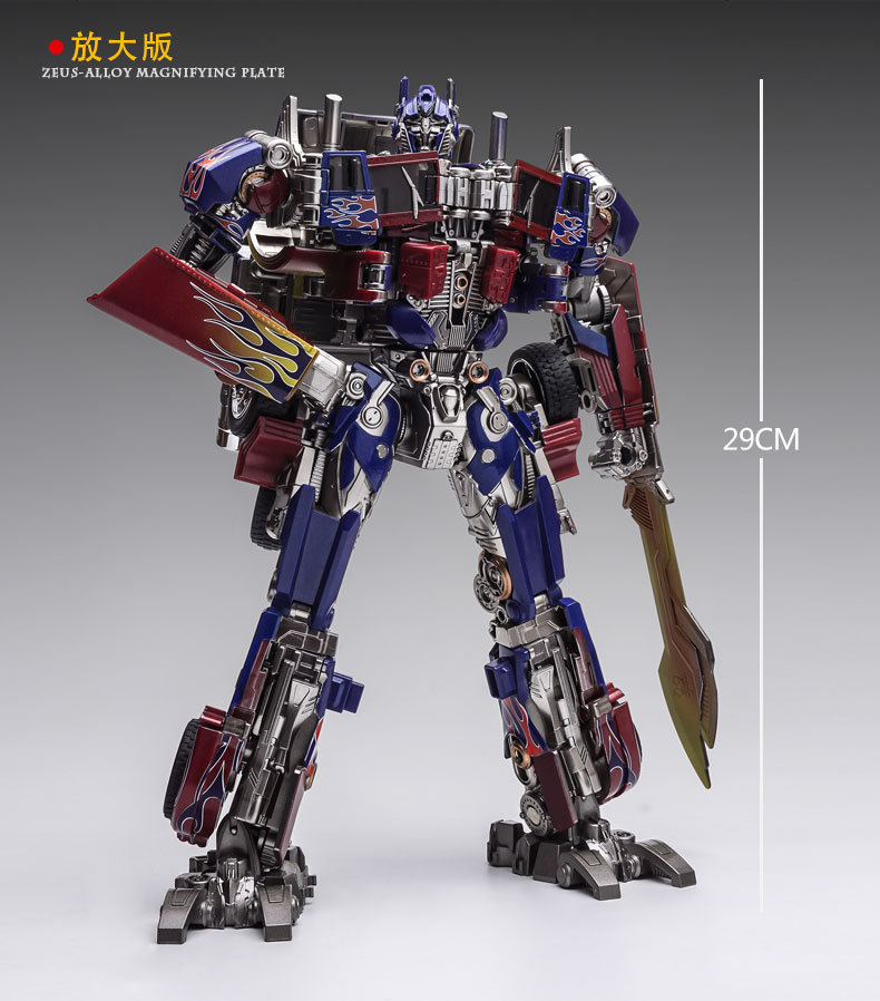 WEI JIANG Transformers Magnified alloy SS05 Optimus Prime Commander