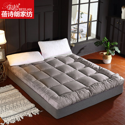 Thickening warm bed mat can be folded 1.5M1.8 mates tatami double bed feather velvet student mattress