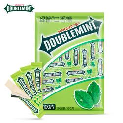 绿箭薄荷口香糖100片箭牌原味清新口气口嚼糖批发办公室休闲零食淘宝优惠券