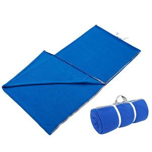 便携式户外旅行保暖多功能抓绒睡袋床单