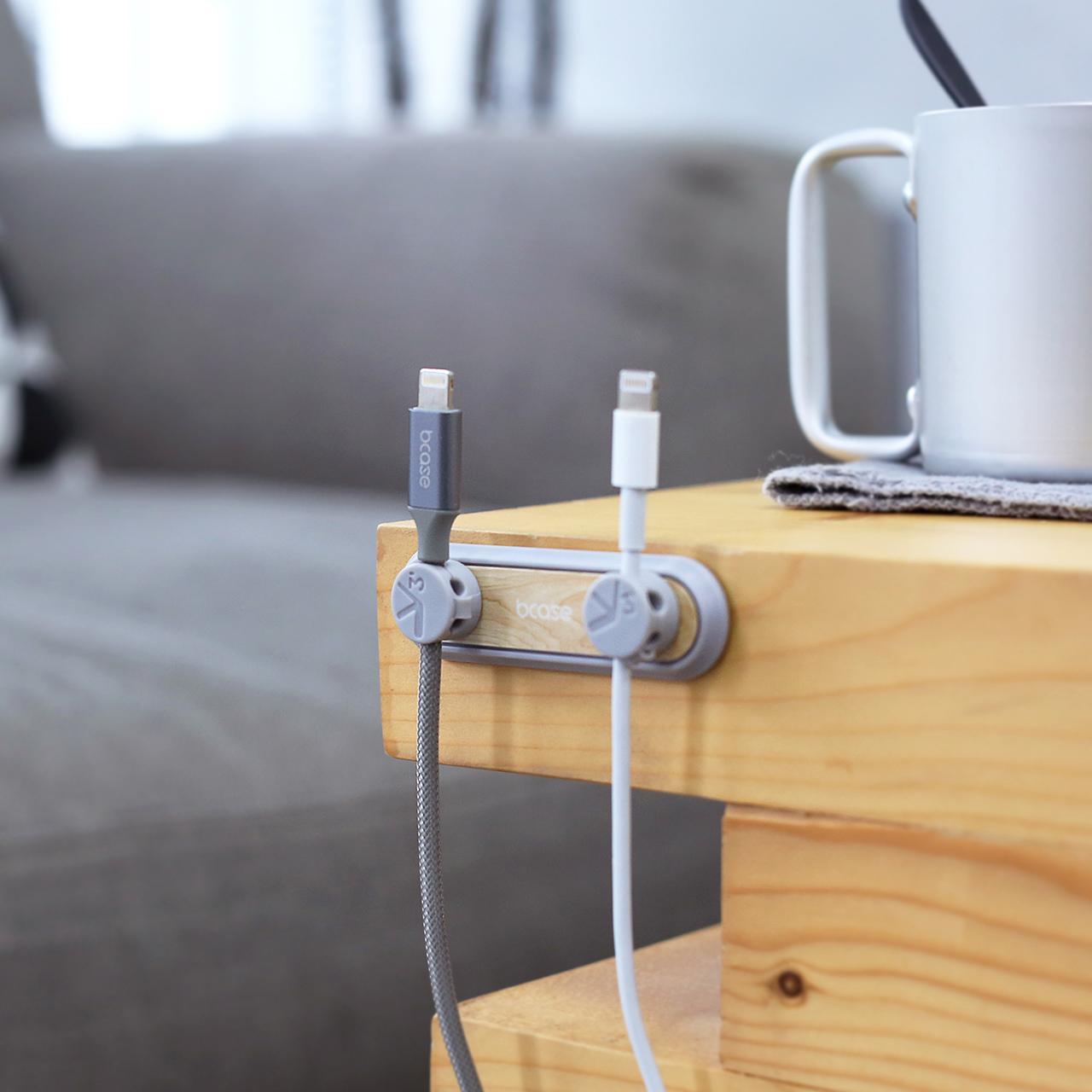 摩登主妇数据线磁吸理线器桌面车载数据线收纳充电线集线器理线器