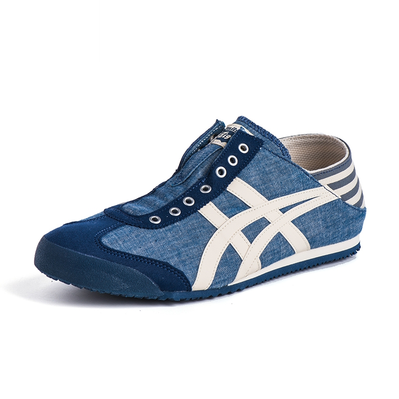 best service dc896 9d897 onitsuka tiger Onitsuka Tiger men's shoes canvas shoes women's shoes lazy  shoes a pedal TH342N-4202