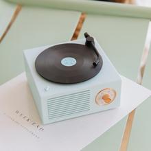 送女朋友什么礼物实用?无线原子黑胶复古唱机