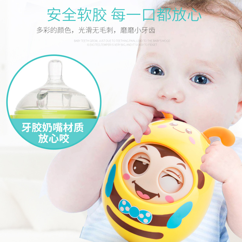 7 Pcs Newborn Infant Toy 0-1-2-3 Year Old Baby Rattle Bell