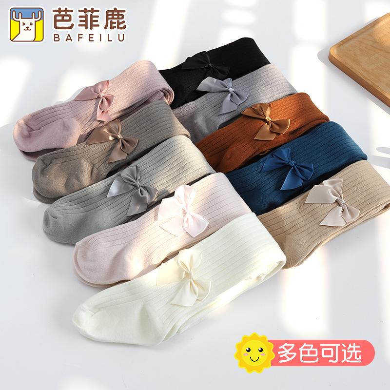 【芭菲鹿】儿童婴儿女加绒加厚打底裤