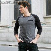 Sourepose Men's Raglan Shirt