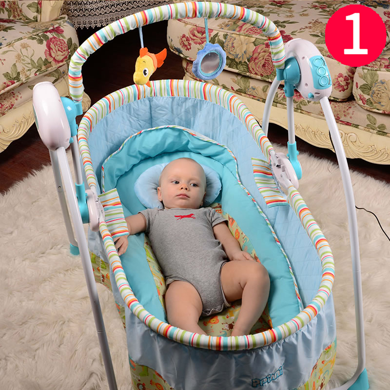 usd 184 14 baby electric cradle bed sleeping basket newborn child