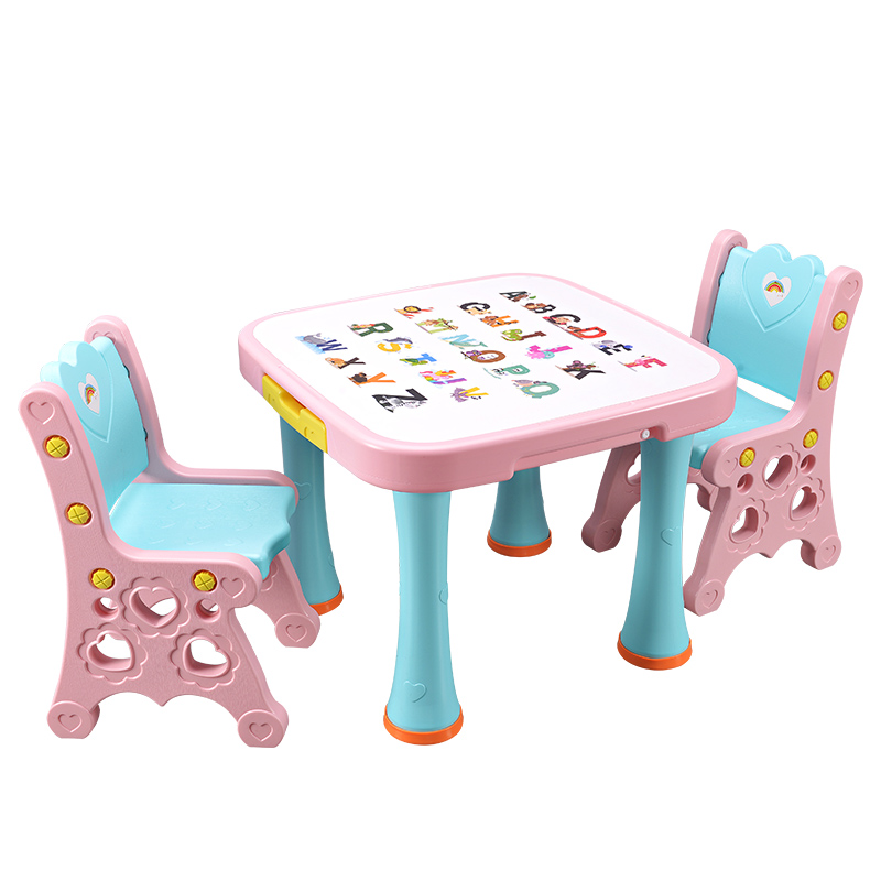 Bear Cubs Children\'s Table and Chair Set Nursery Toys Desk Baby ...