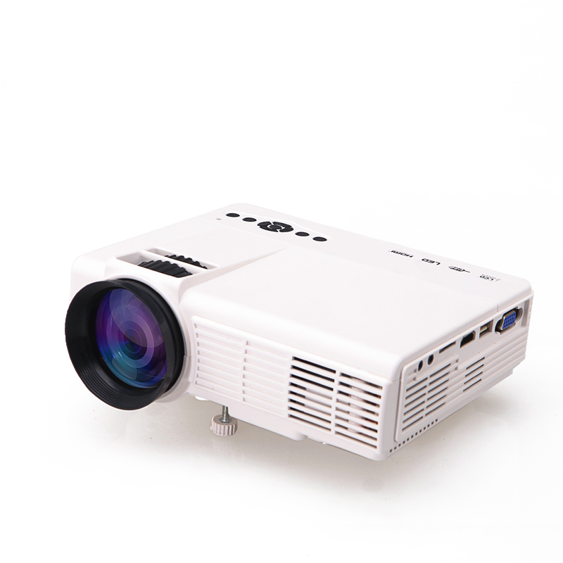 Chong zhi projector home small high definition mini home for Small projector for mobile