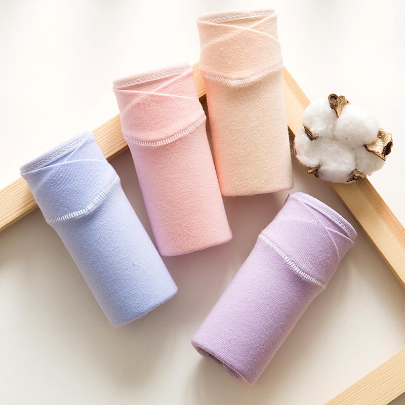 5条装纯棉怀孕期产后孕妇内裤组合
