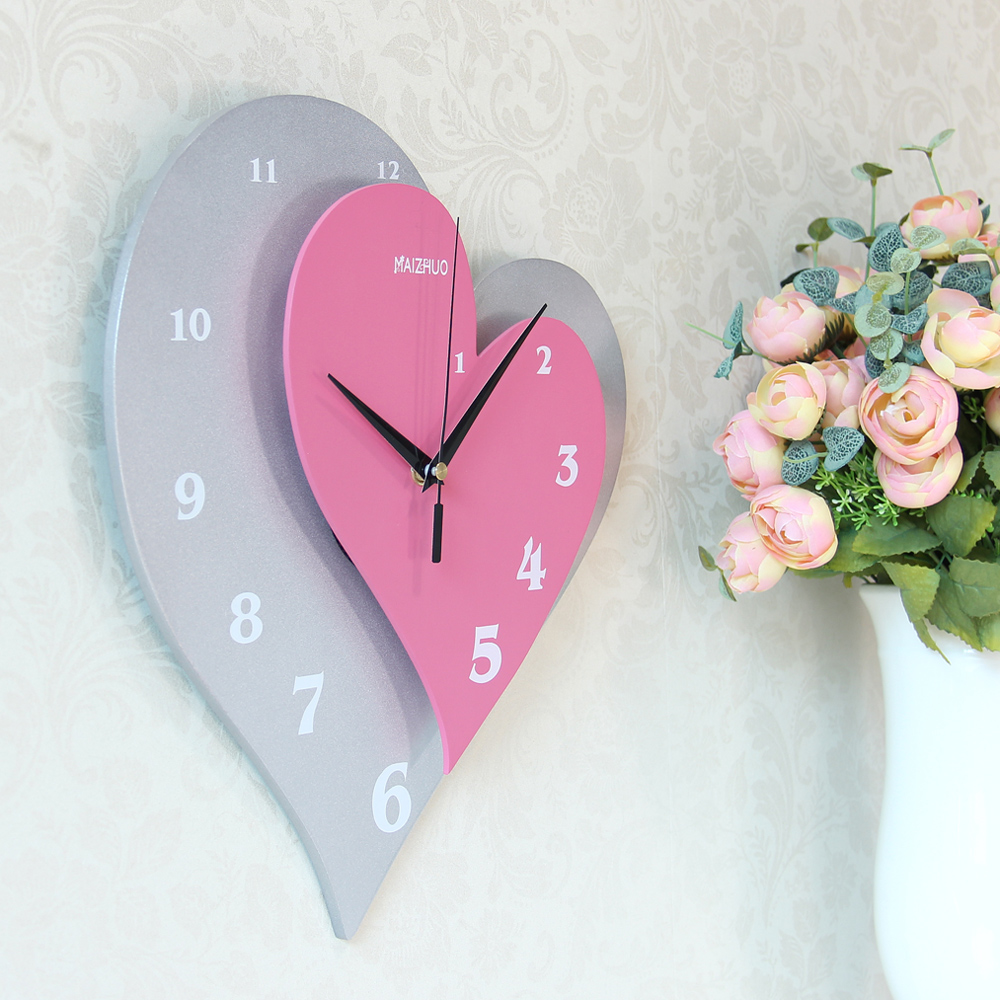 Mai Zhuo Silent Wall Clock Personality Fashion Creative Wall Charts