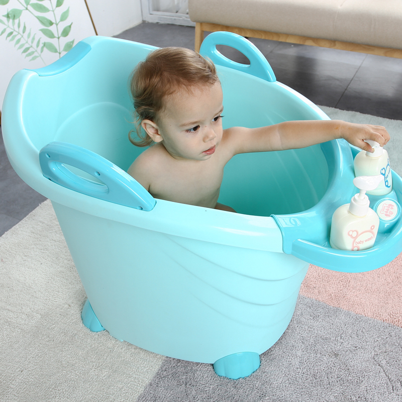 USD 159.03] DuDi doudi children bath tub newborn baby bath tub baby ...