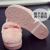 Cotton shoes women autumn and winter 2018 new students warm and velvet Korean women's shoes fur shoes wild pregnant peas shoes