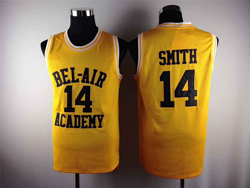 Fresh Prince of Bel Air Jersey 14 Will Smith Carlton Banks Academy S ... 99a603043
