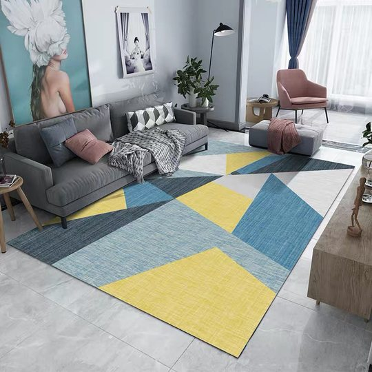 INS Nordic living room sofa tea serial carpets simple modern bedroom bedside mat room full shop home customization