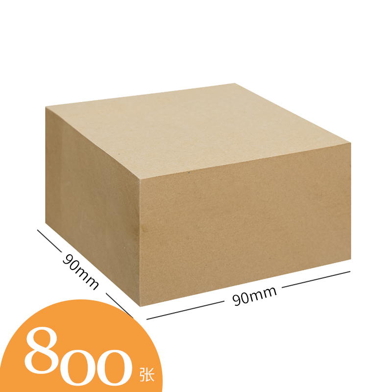 Wooden Square Note Stick Large 800 Sheets