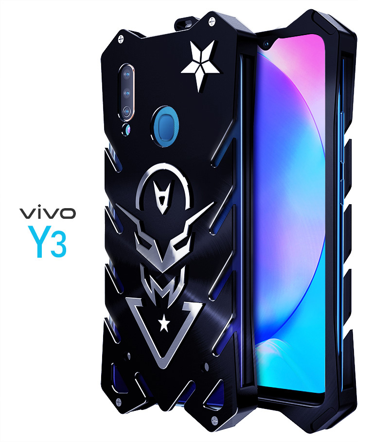 SIMON New THOR II Aviation Aluminum Alloy Shockproof Armor Metal Case Cover for vivo Y3