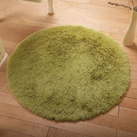 欧式茶几客厅丝地毯健身垫子地垫圆形毛毯卧室飘窗书房毛垫电脑椅