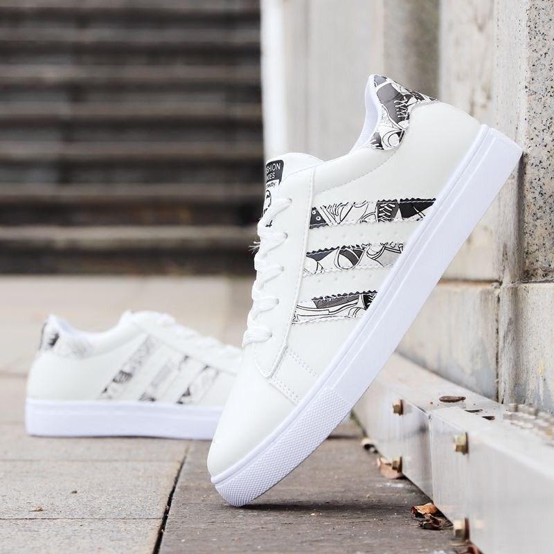 白鞋休闲小白鞋男内增高板鞋