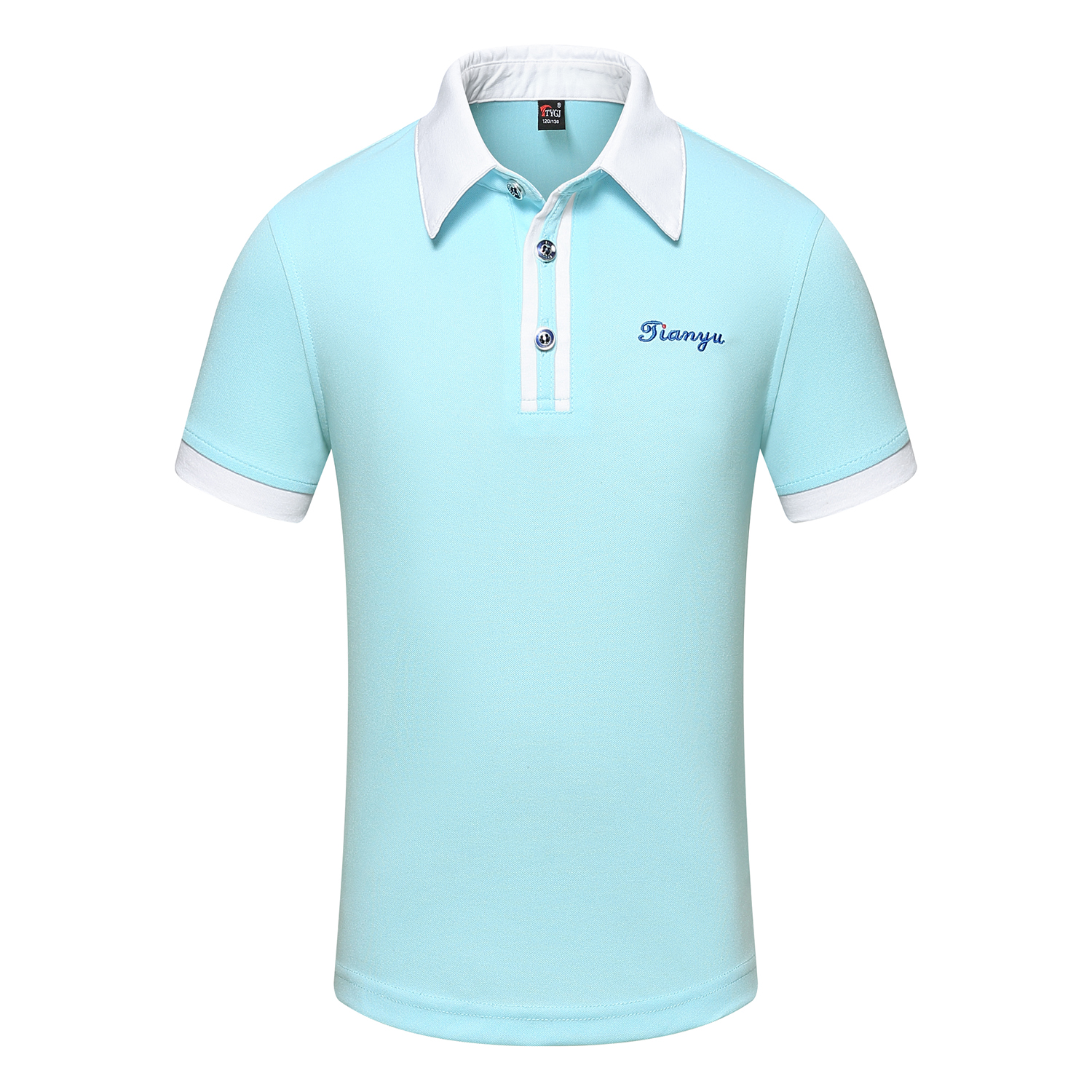 LIGHT BLUE POLO SHIRT FOR MEN AND WOMEN
