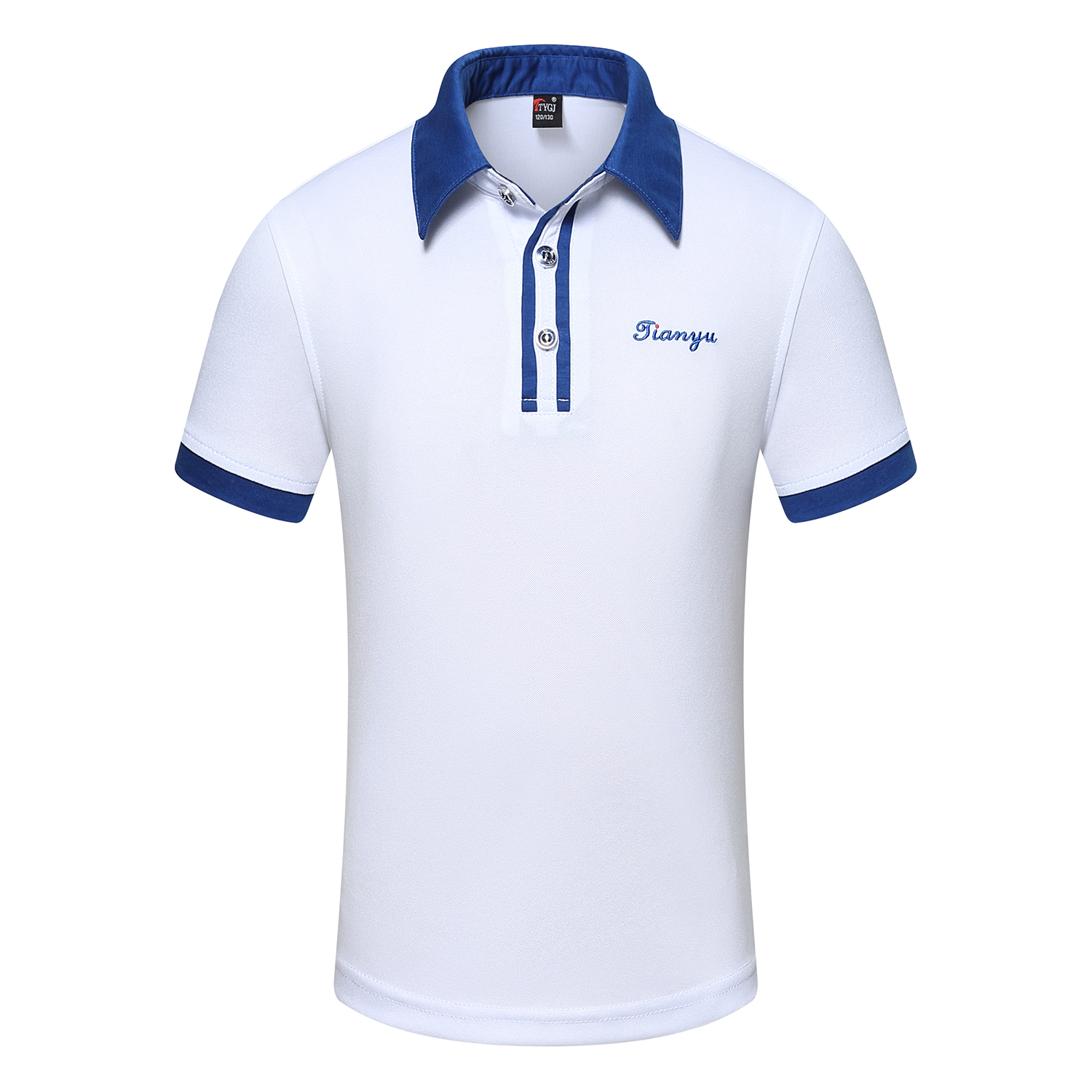 WHITE POLO SHIRT FOR MEN AND WOMEN