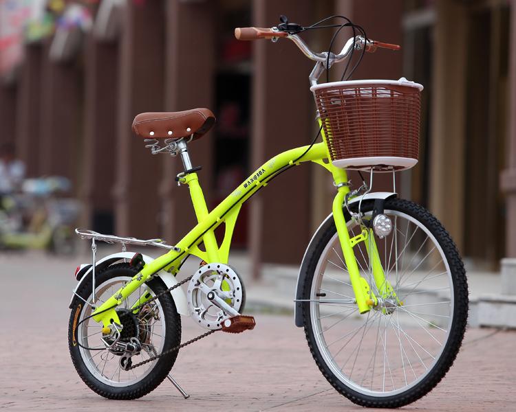 大小轮 成人淑女式儿童学生自行车 女士变速单车图片