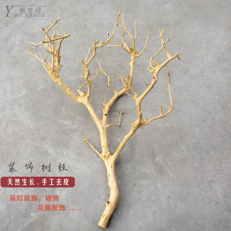 Dry Branches Ornaments Ornaments Logs Peeled Dry Branches Hanger