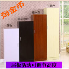 Special / single door two-door shoe shoe promotional simple three four multi-layer solid wood shoe shoe rack cabinet balcony