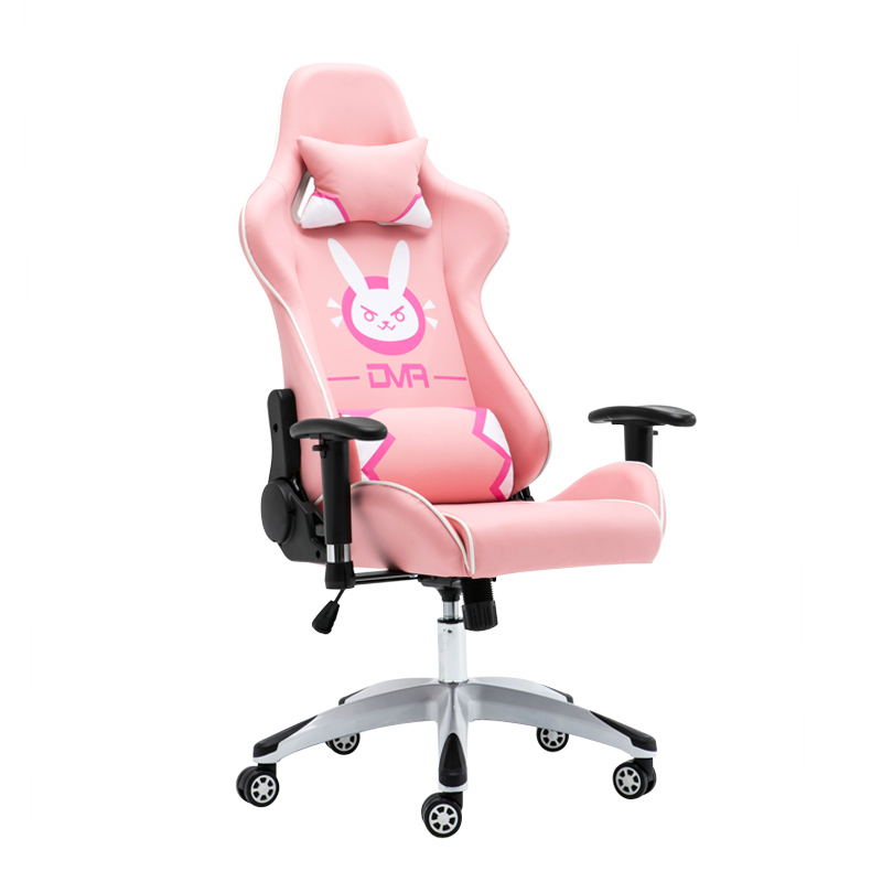 Game Chair E Sports Chair Home Computer Chair LOL Watch Pioneer DVA Pink  Racing Chair Dormitory ...