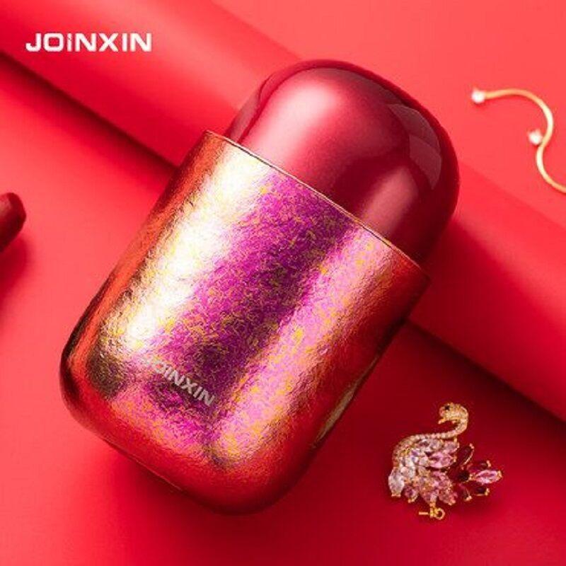 JOINXIN红人杯 纯钛高档时尚少女心双层真空保温保冷杯便携礼品杯