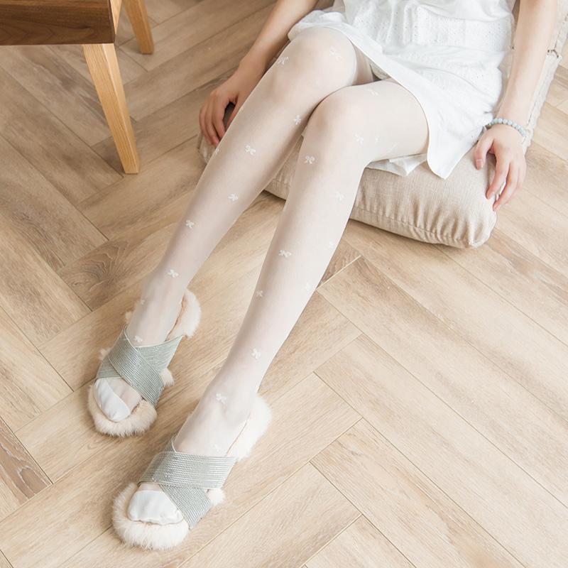 初花樱韩国v花色10d-60d花色提花合集仙女性感弹力女丝袜连裤袜子