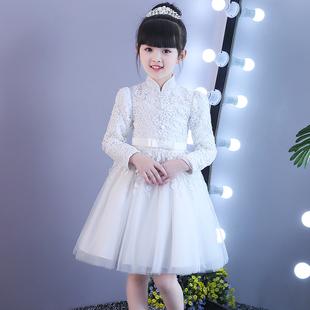 女童礼服钢琴演出服花童公主蓬蓬裙