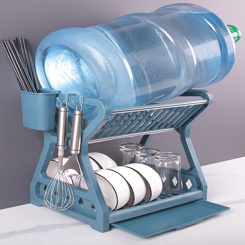 碗碟收纳架沥水碗架放碗筷碗盘收纳盒碗柜用品家用台面厨房置物架