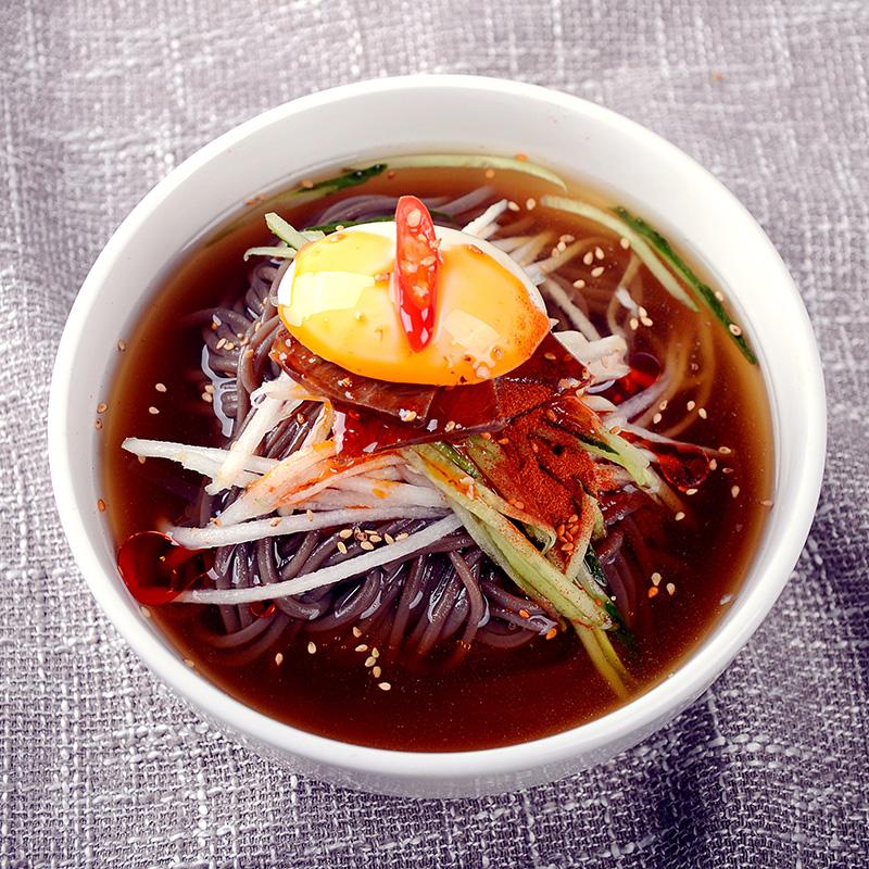 【4袋装】正宗韩国荞麦大冷面东北朝鲜族特产延吉风味小吃零食品