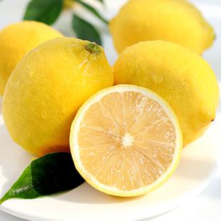【柠乡人】净重5斤新鲜大果柠檬