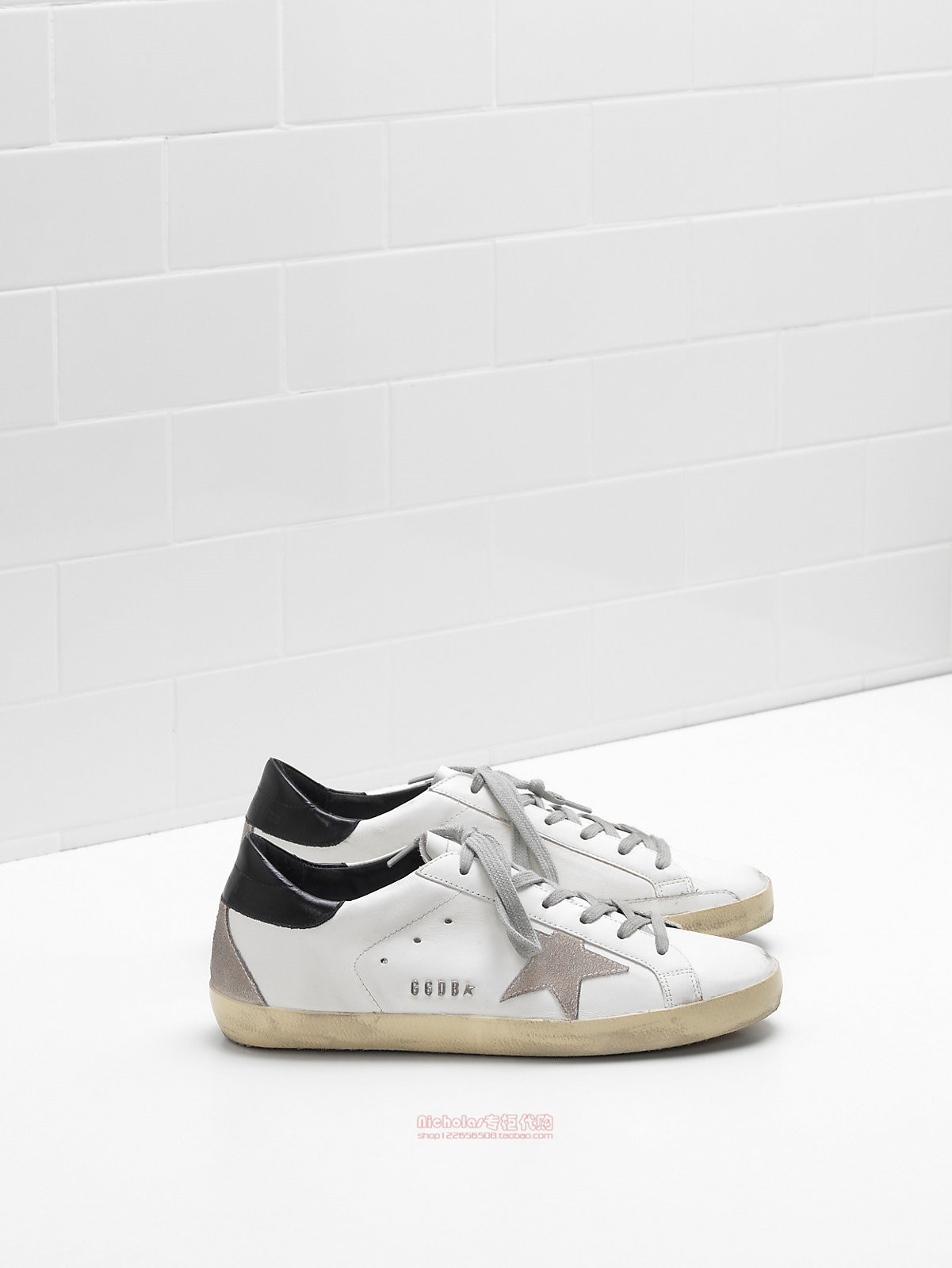 Achats authentiques Golden Goose Silver Tail Gris  classic Star GGDB classic  8ab004
