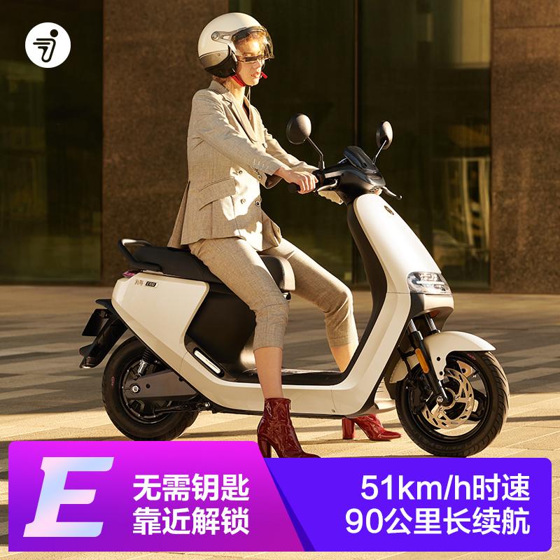 Ninebot số 9 xe máy điện E80C Xiaomi xe điện thông minh sinh thái xe điện pin 72V - Xe đạp điện