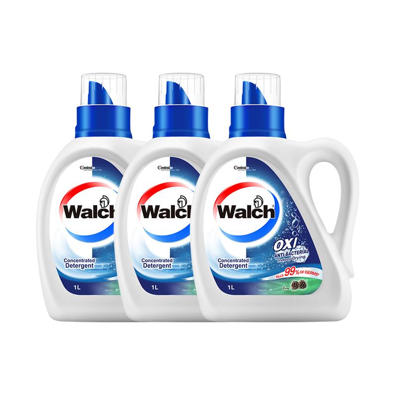 威露士洗衣液6斤除菌除螨手洗机洗衣物有氧洗家庭瓶装内衣裤松木